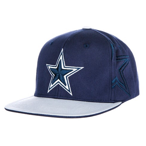 3452a17cd7 NFL Youth Dallas Cowboys Gray Sherman Flat Bill Hat   Target