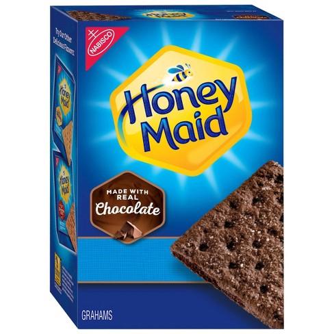 Honey Maid Chocolate Graham Crackers - 14.4oz - image 1 of 4