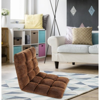 Esme Kids' Recliner Chair Brown - Chic Home