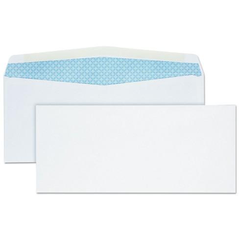 Quality Park Business Envelope #10 4 1/8 x 9 1/2 White 500/Box 90030 - image 1 of 2