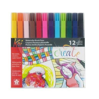Coloring Brush Pen Set - Koi