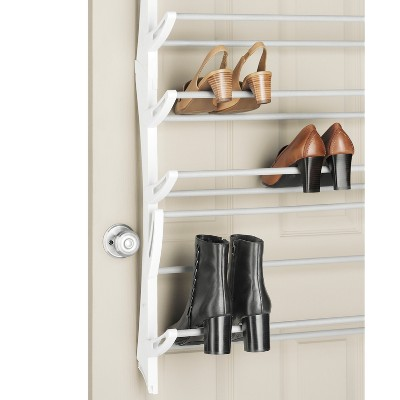 Merveilleux Whitmor 36 Pair Over The Door Shoe Rack White : Target