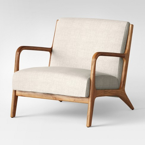 Esters Wood Arm Chair Husk - Project 62™ : Target