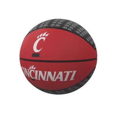 NCAA Cincinnati Bearcats Repeating Logo Mini-Size Rubber Basketball
