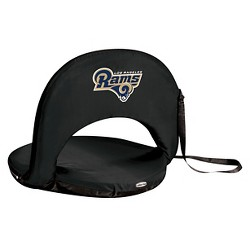 NFL Oniva Seat Portable Recliner Chair by Picnic Time - Black