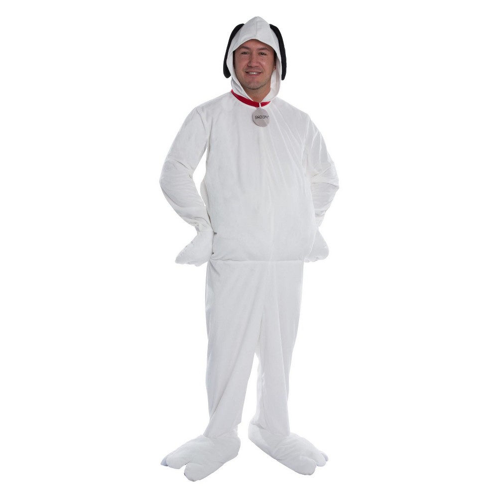 Image of Halloween Men's Peanuts Snoopy Halloween Costume XL, Size: XL, White
