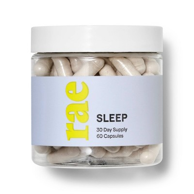 Rae Sleep Dietary Supplement Capsules - 60ct
