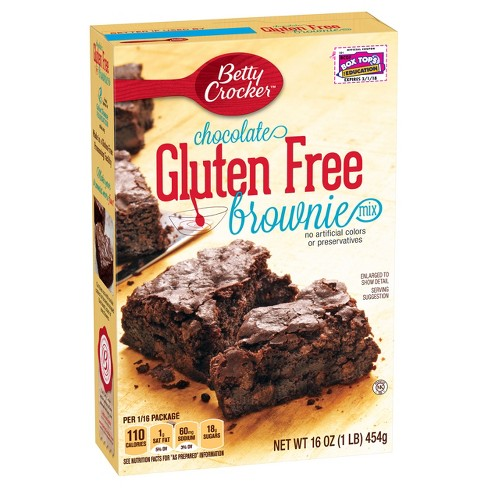 Betty Crocker Gluten Free Chocolate Brownie Mix - 16oz - image 1 of 4