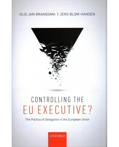 Controlling the EU Executive? : The Politics of Delegation in the European Union -  (Hardcover) - image 1 of 1