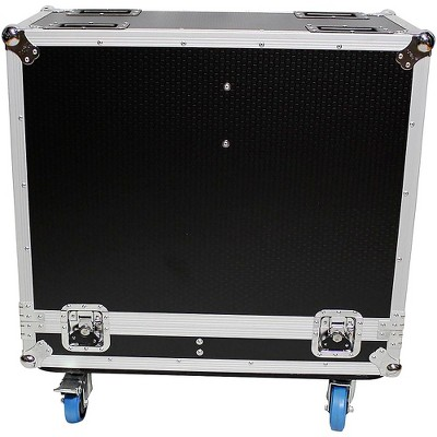 "ProX XS-2X12SPW Universal 2 Speakers ATA Flight Case for 12"" Loudspeakers Black"