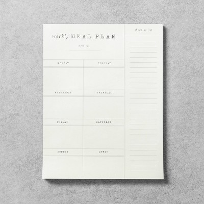 Meal Planner Notepad - Hearth & Hand™ with Magnolia
