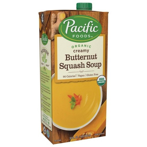 Pacific Foods Organic Creamy Butternut Squash Soup - 32oz - image 1 of 4
