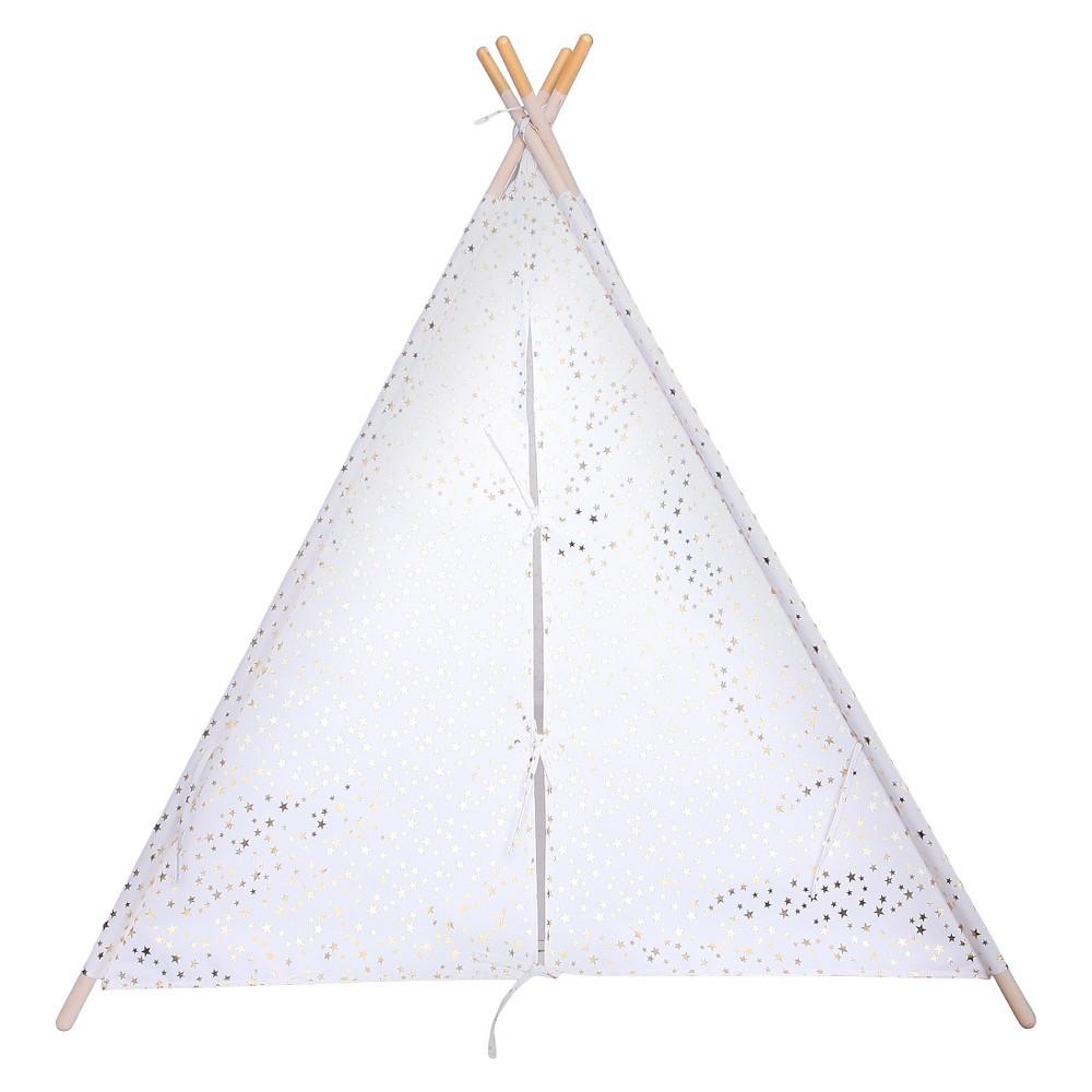 Image of Kids Tent Gold Foil Star - Pillowfort