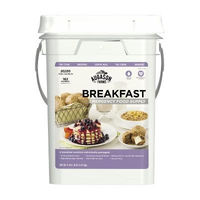 Augason Farms Breakfast Emergency Food Supply Kit - 11lb Pail
