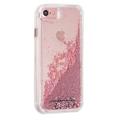 new concept f6258 481b5 iPhone 6/6S/7 Phone Case – Case-Mate Waterfall – Rose Gold – Target ...