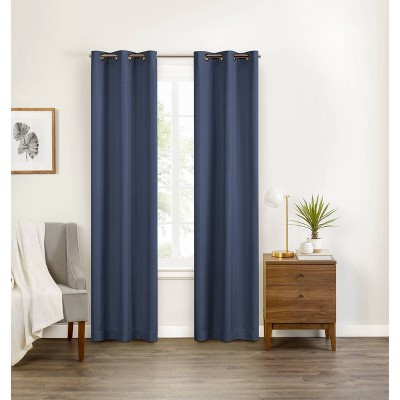 Celeste Draft Stopper Blackout Curtain Panel - Eclipse