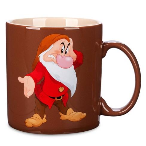 Disney Grumpy 20oz Stoneware This Is My Happy Face Mug - Disney store - image 1 of 2