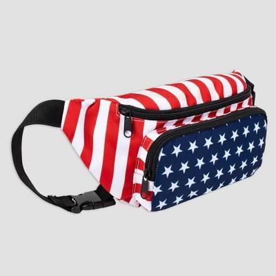 Wemco Striped Americana Sling Bag