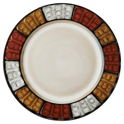 Pfaltzgraff Expressions Emilia Salad Plate 8.4 x8.4  Stoneware - Set of 4