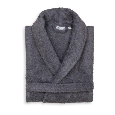 Terry Cloth Solid Bathrobe Gray - Linum Home...   Target 8c8d4ecc4