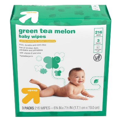 Baby Wipes Green Tea Melon - 216ct - Up&Up™