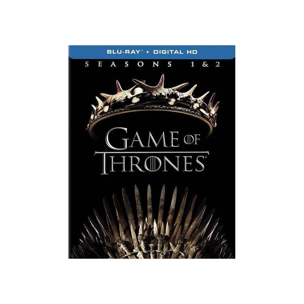 Game Of Thrones Seasons 1 2 Blu Ray 2017