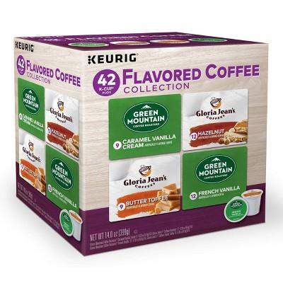 Keurig Flavored Coffee Variety Pack - Keurig K-Cup Pods - 42ct