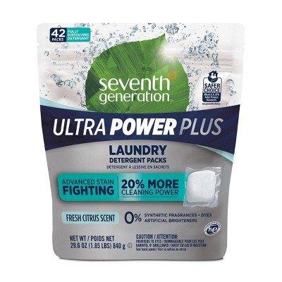 Laundry Detergent: Seventh Generation Ultra Power Plus
