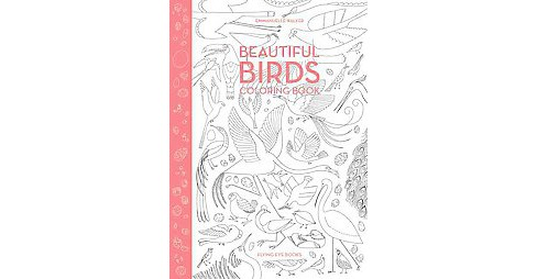 Beautiful Birds Coloring Book -  (Paperback) - image 1 of 1