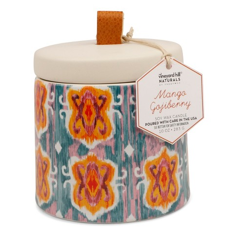 Container Candle Mango Gojiberry 10oz - Vineyard Hill Naturals by Paddywax - image 1 of 2
