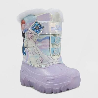 Toddler Girls' Disney Frozen Winter Boots - Lilac