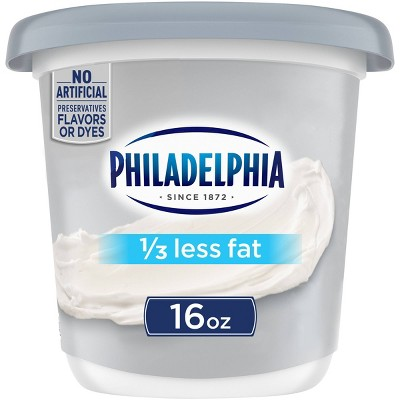 Philadelphia Light Cream Cheese - 16oz