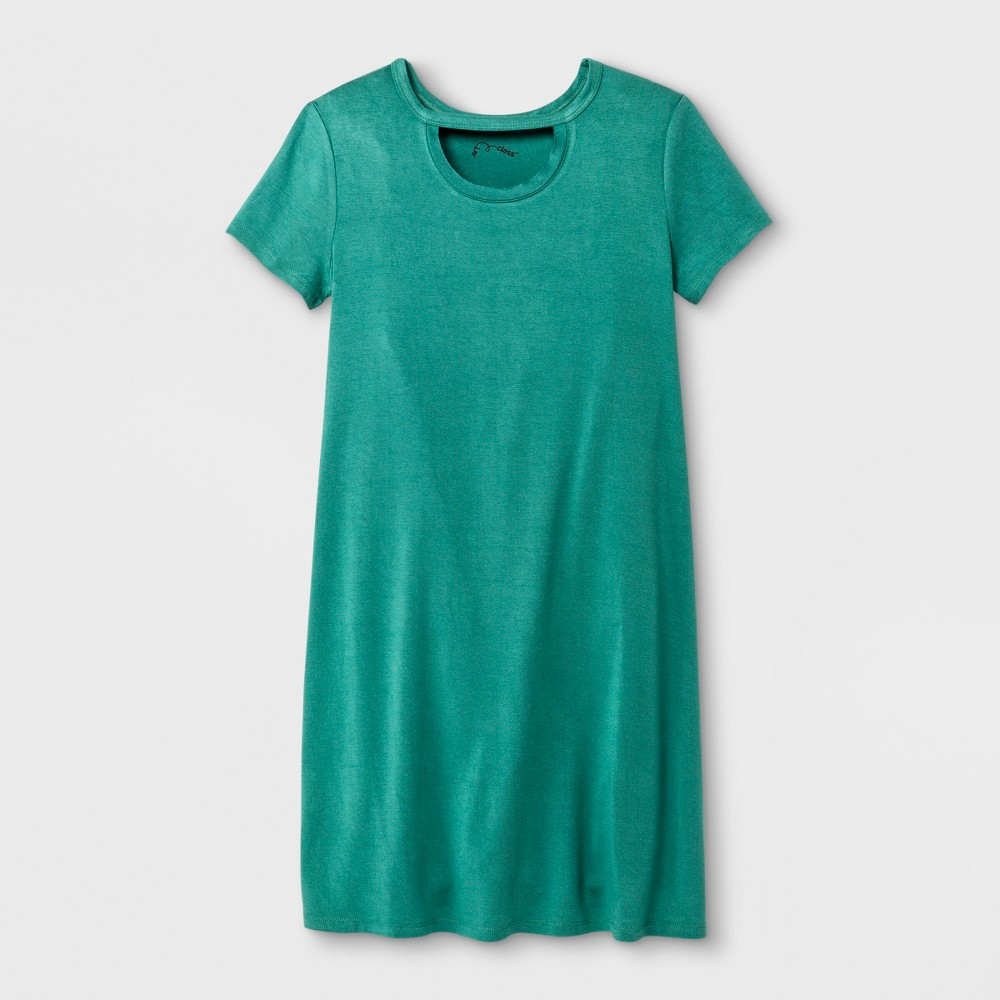 Girls' Short Sleeve Gigi Dress - art class Green XS