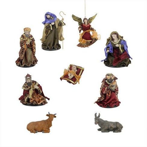 LB International 9-Piece Inspirational Holy Family and Three Kings Religious Christmas Nativity Set - image 1 of 2