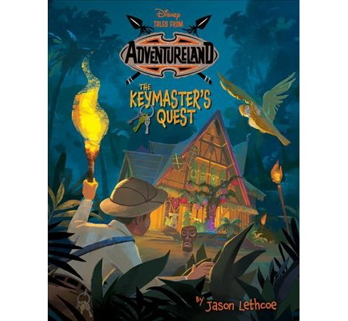 Keymaster's Quest -  (Tales from Adventureland) by Jason Lethcoe (Hardcover) - image 1 of 1