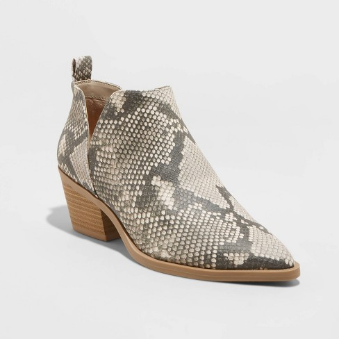 Women's Cari Cut Out Ankle Bootie - Universal Thread™ - image 1 of 3