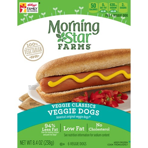MorningStar Farms Classic Veggie Dogs - 6ct - image 1 of 8