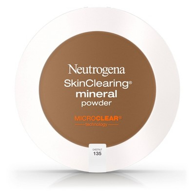 Neutrogena Skin Clearing Powder 135 Chestnut .38oz