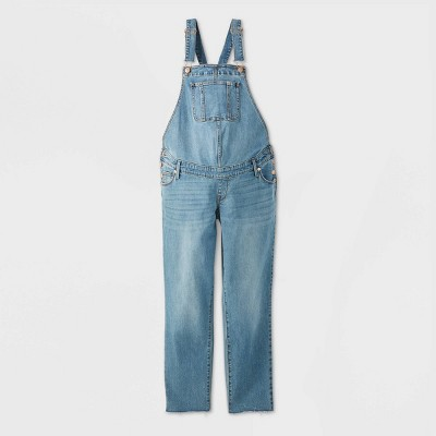 Maternity Denim Overalls - Isabel Maternity by Ingrid & Isabel™ Medium Blue