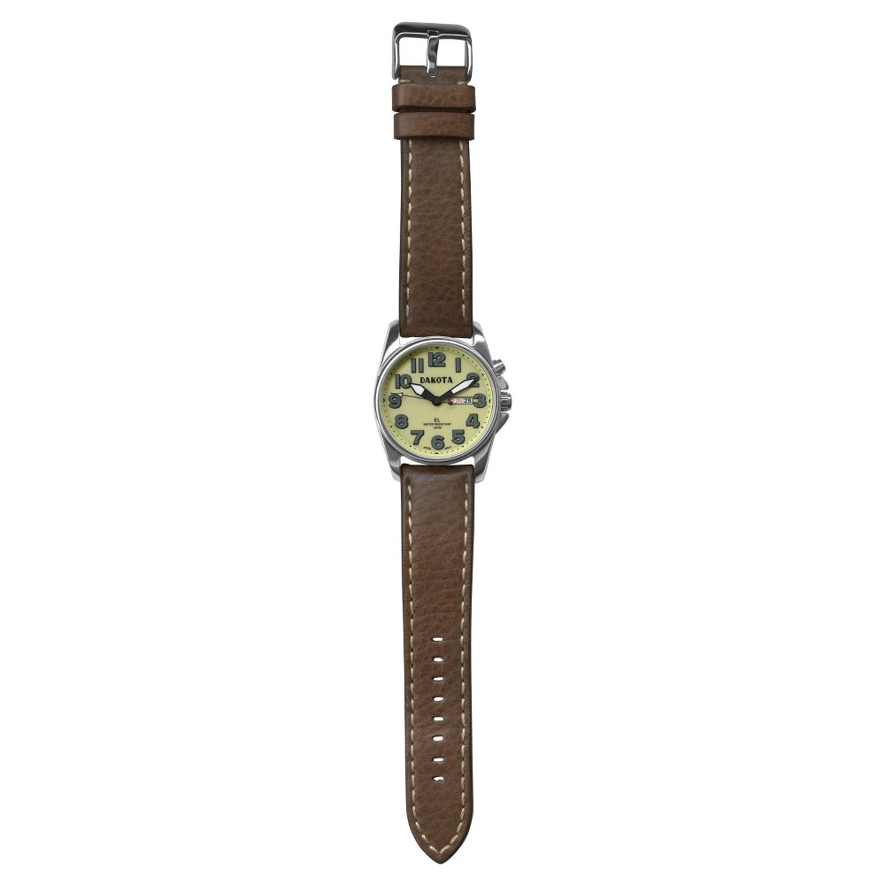Men's Dakota Field Watch - Brown, Mahogany