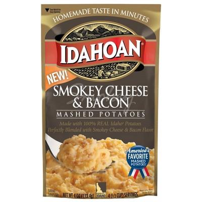 Idahoan Smokey Cheese & Bacon Mashed Potatoes - 4oz