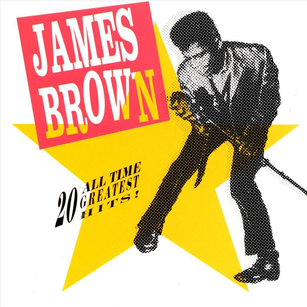 James Brown 20 All Time Greatest Hits Cd