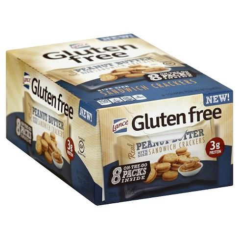 Lance Real Peanut Butter Sandwich Crackers - 8oz - image 1 of 5