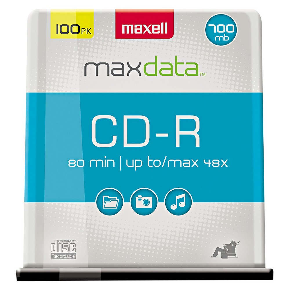 Image of Maxell 80min Cd Recordable Media