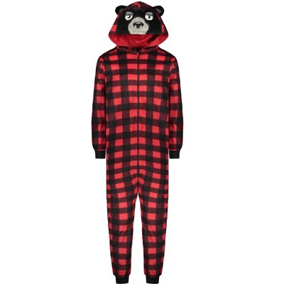 Sleep On It Boys Zip-Up Bear Onesie