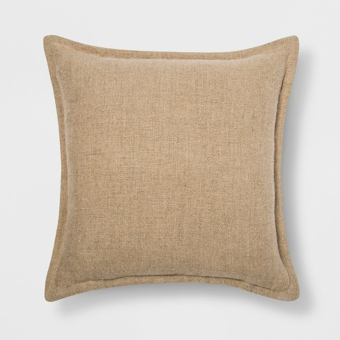 Washed Cotton / Linen Throw Pillow - Threshold™ - image 1 of 3