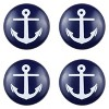 Sumner Street Home Hardware 4 Piece Anchor Painted Knob - Blue - image 3 of 3
