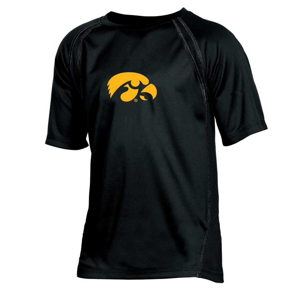 Iowa Hawkeyes Boys' Impact Poly Performance T-Shirt XS, Multicolored