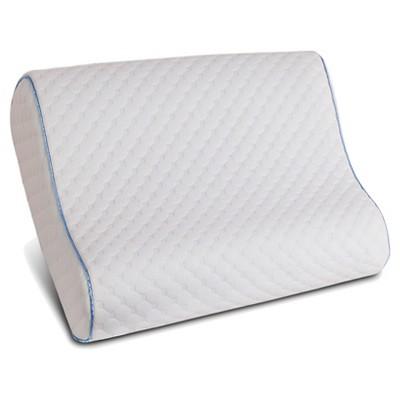 Memory Foam Contour Pillow (Standard/Queen)White - Sealy®