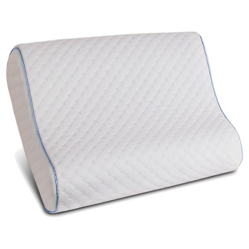 Memory Foam Contour Pillow (Standard/Queen) White - Sealy® - image 1 of 2